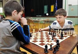chess kid intimidating