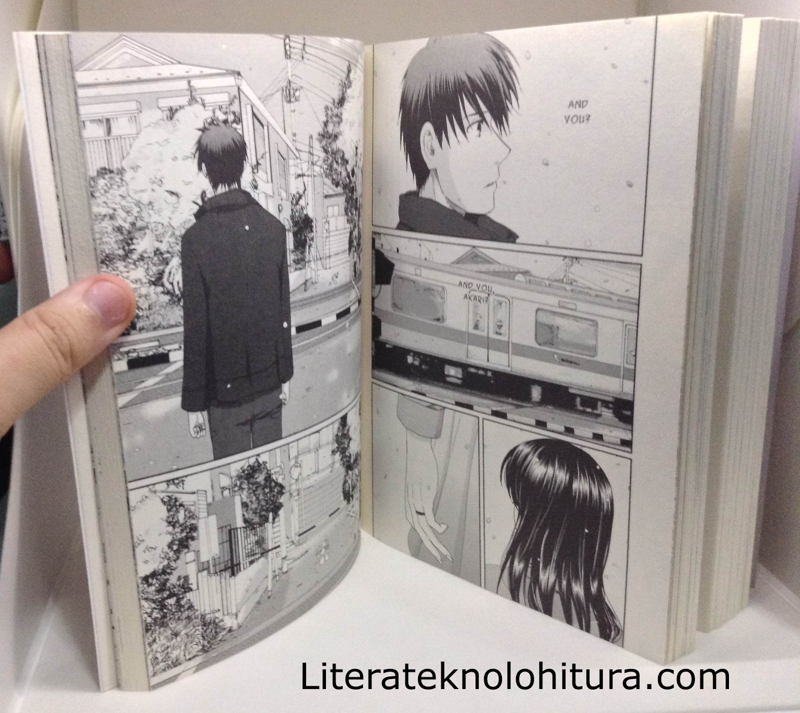 5 centimeters per second manga heartwrenching moment