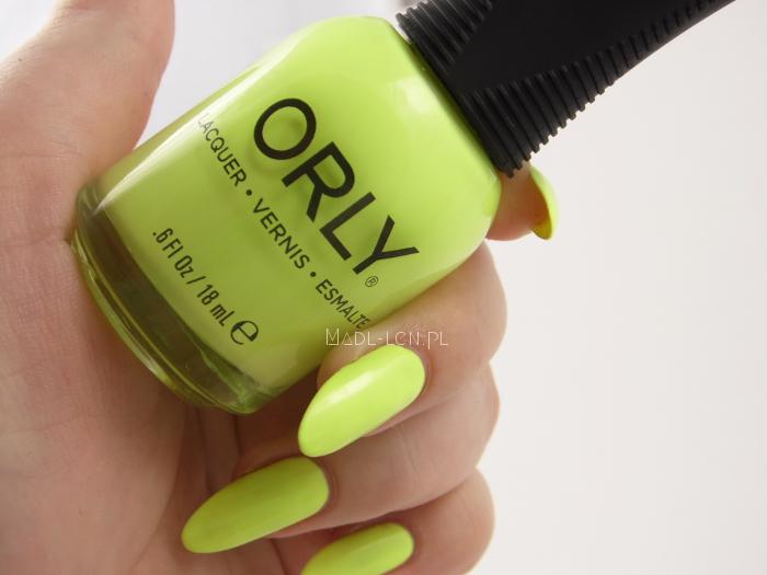 Orly, Key Lime Twist, Sugar High, swatch