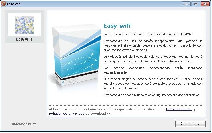 Buscar redes Wifi con Easy WiFi
