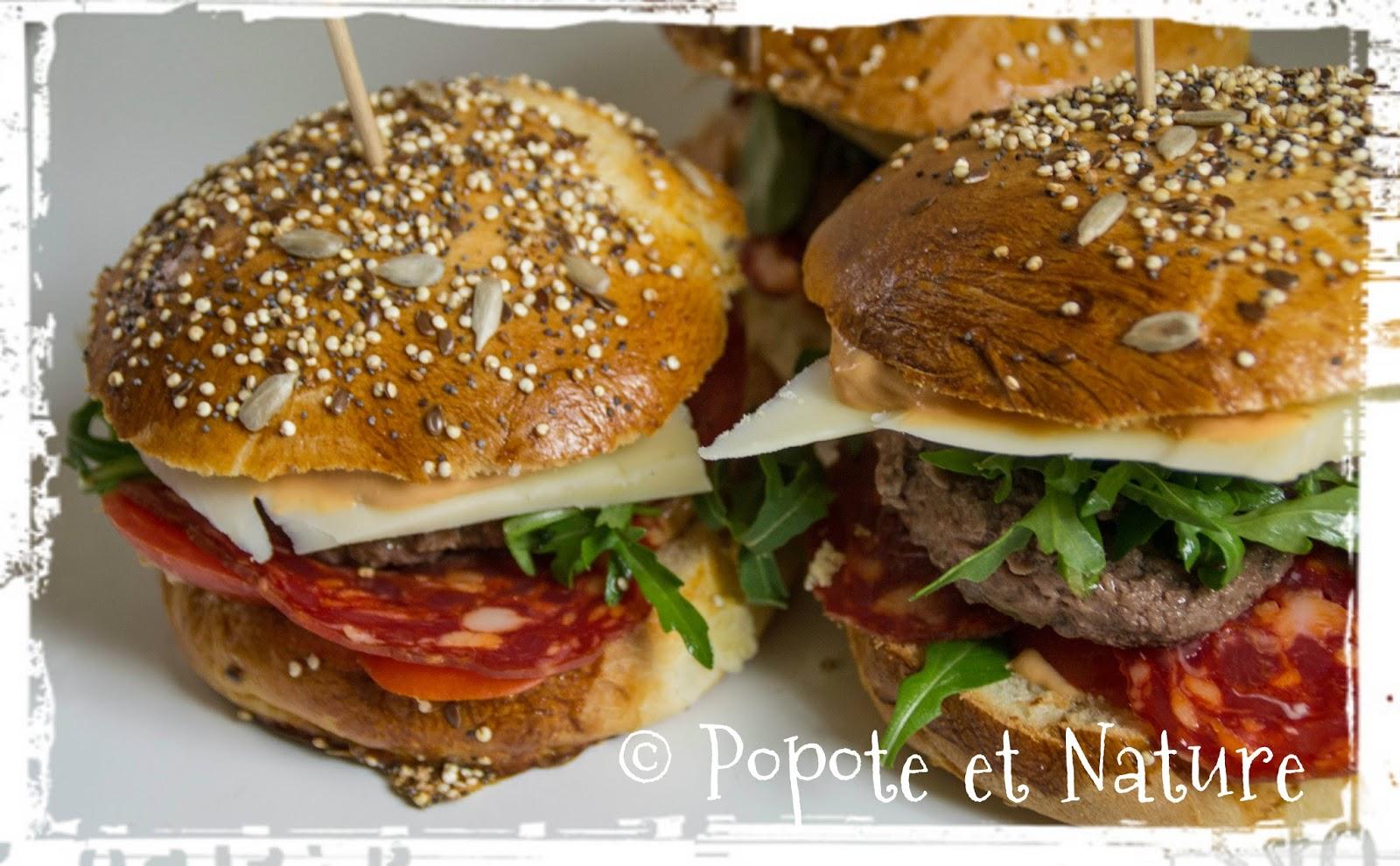 Popote et nature faites vos hamburgers vous m me avec for Concevez et construisez votre propre maison