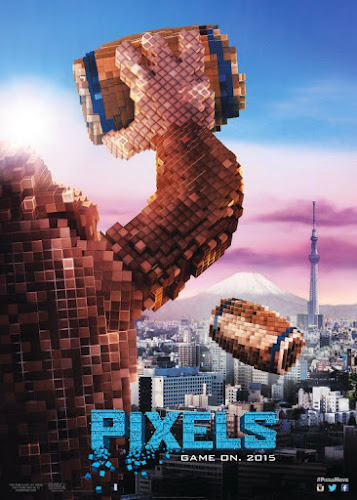 Pixels (BRRip 3D 1080p Dual Latino / Ingles) (2015)