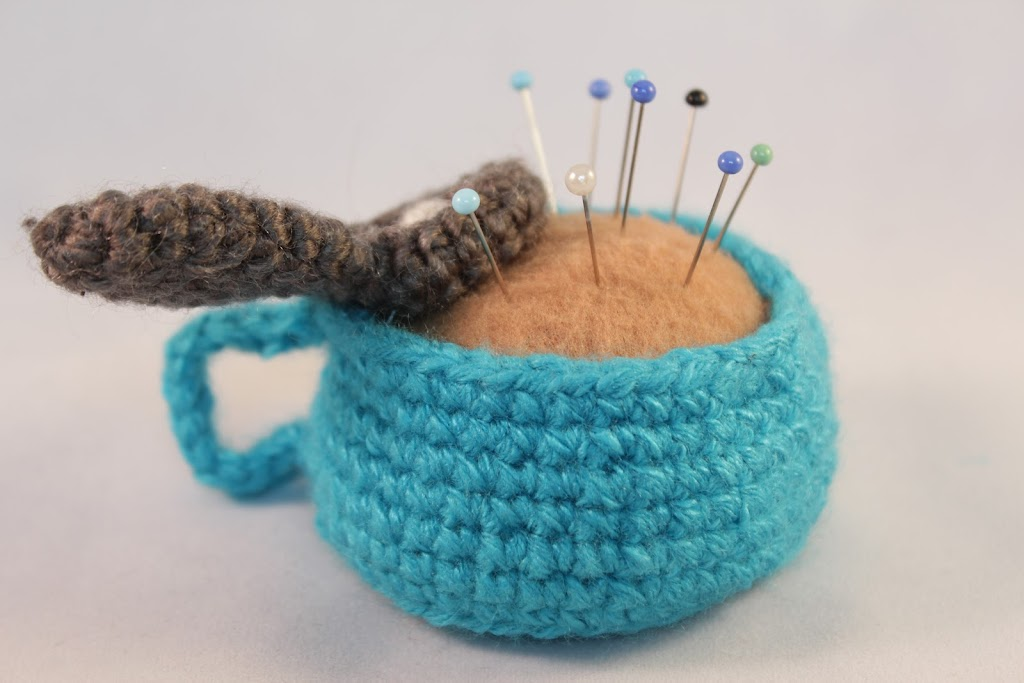 Amigurumi tea cup free pattern The Sun and the Turtle