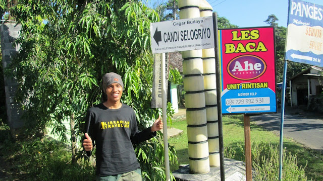 Saat menuju Candi Selogriyo, Magelang