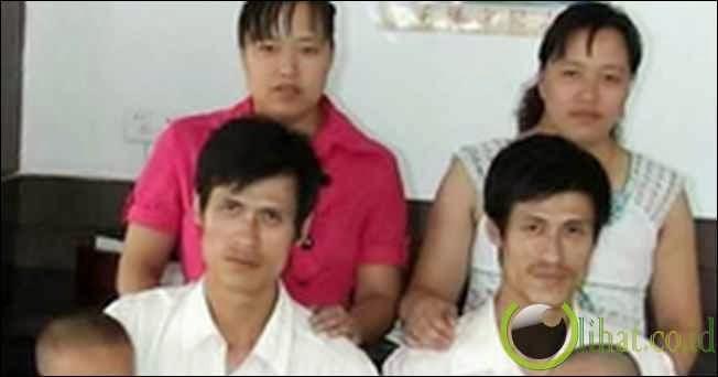 Pasangan kembar ini berasal dari China