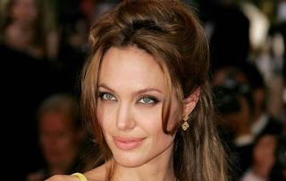 Angelina Jolie face in 2013