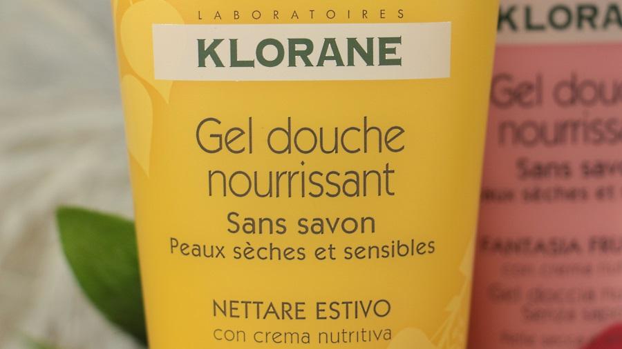 klorane gel douche surgras nectar d'été