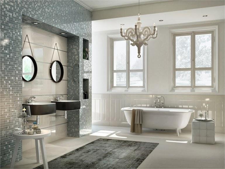 Fotos de ba os de lujo colores en casa for Ante banos disenos modernos