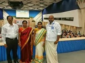 Dr. Abraham Karickam, Mrs. Susan Abraham, Ann Mary and Sidhartha Siva