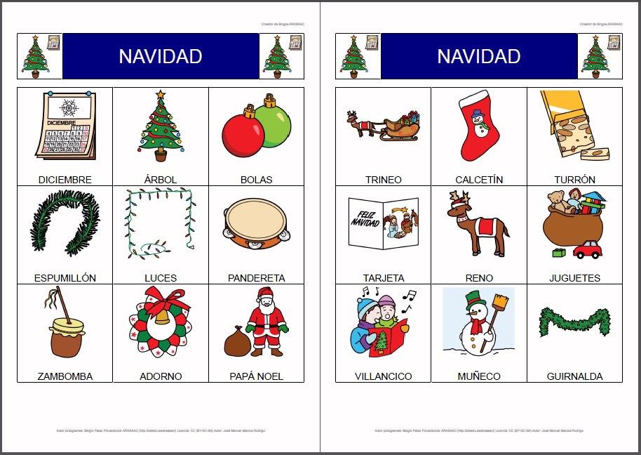 recopilacin materiales ud la navidad maestros de audicin y lenguaje with adornos de navidad en ingles