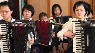 North Korea, Teachers, Accordian