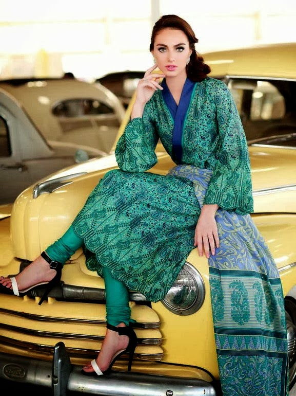 Latest Fashion Prima Lawn Collection