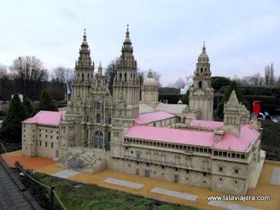 Catedral Santiago Compostela, Mini-Europe