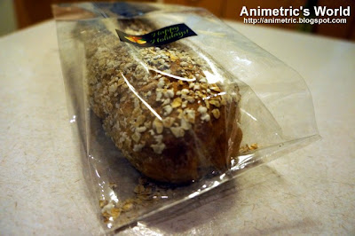 Hand-made oatmeal bread from from Bakersville Boulangerie & Patisserie