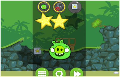 bad piggies screen shot : intelligent Computing