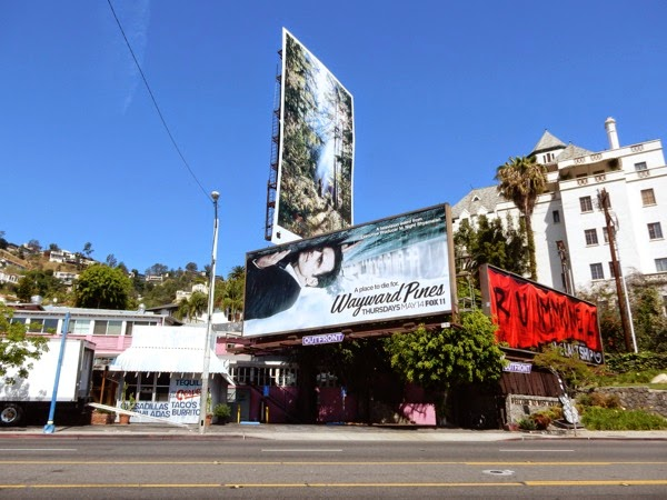 Wayward Pines billboard
