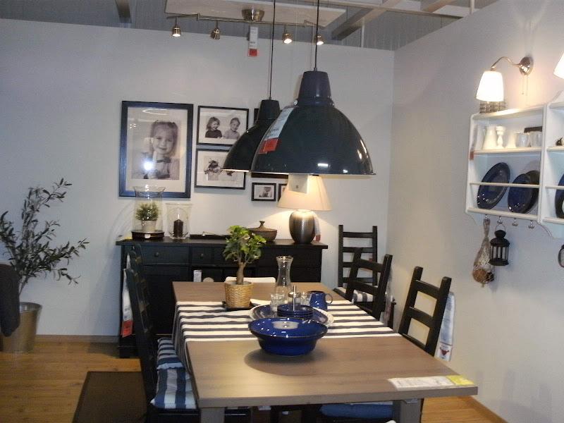 Salas De Estar De Ikea ~  Ikea de sala de estar e jantar mas cantinho de trabalho, tudo junto