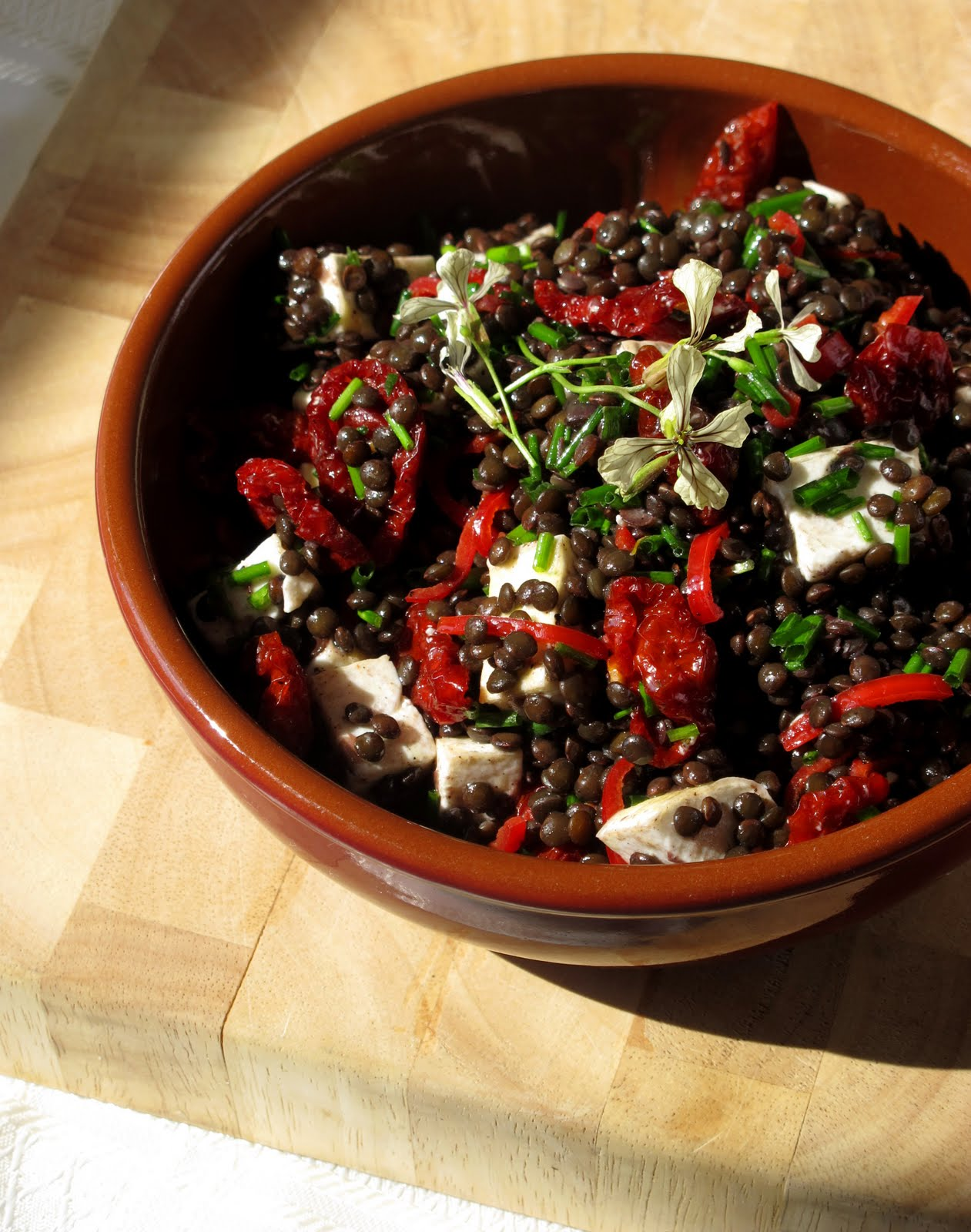 Hunger and Sauce: A warm salad for a warm week