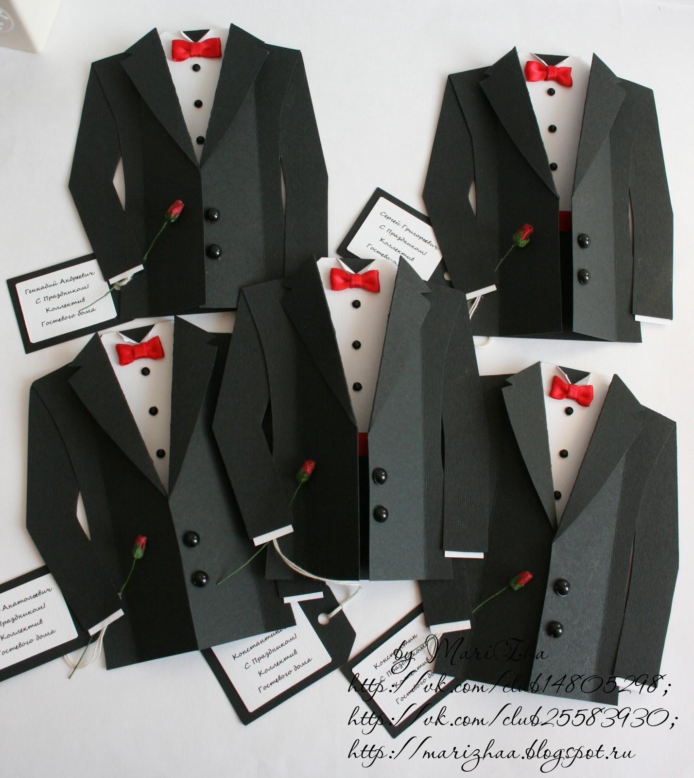 Открытка рубашка с галстуком своими руками шаблон