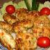 Receta de pollo con queso y verduras