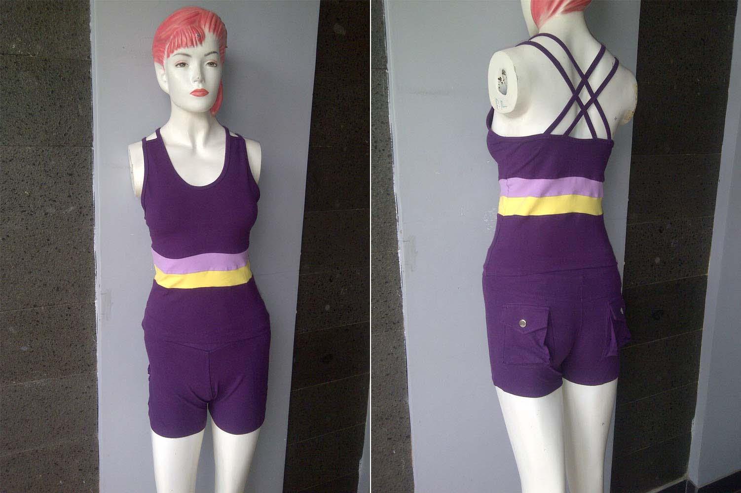 Pusat grosir pakaian olahraga wanita termurah