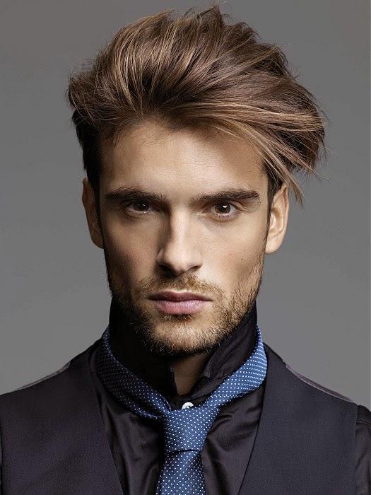 Modela tu cabello cortes de pelo para hombres con frente - Peinados hombres con entradas ...