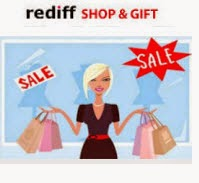 Rediff coupons Rs.100 off on Rs. 499, Rs. 250 off on Rs. 1000 (Last Day)