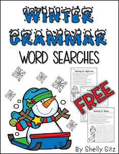 Grammar Word Search Freebie
