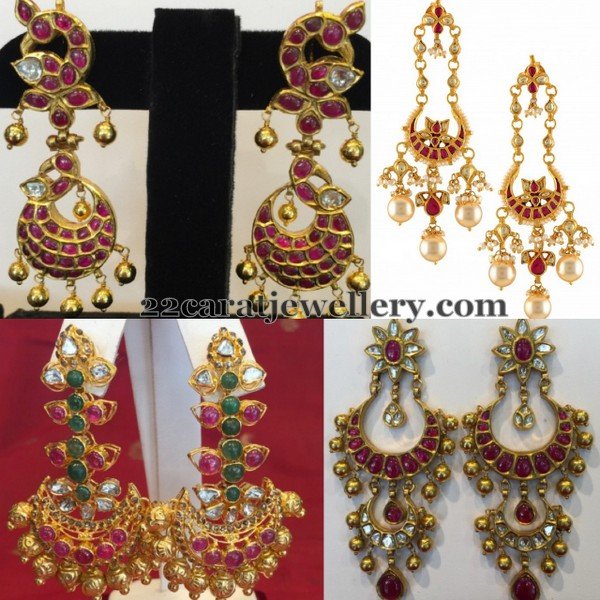 Grand Ruby Earrings by Shreejewellers