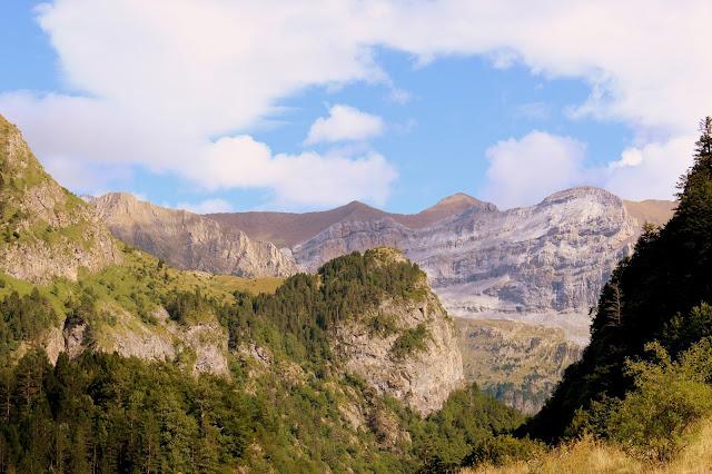 Macizo de Vignemale desde el valle de Bujaruelo-Huesca