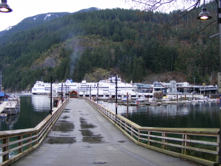how to get from marine drive to horseshoe bay ferry