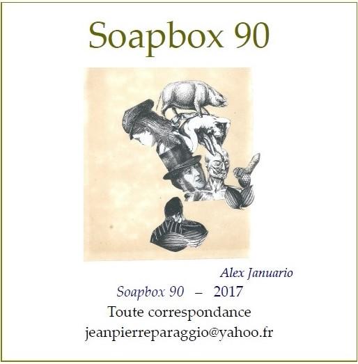 SOAPBOX N°88, N°89, N°90, FEUILLETS de L'UMBO, Automne 2017