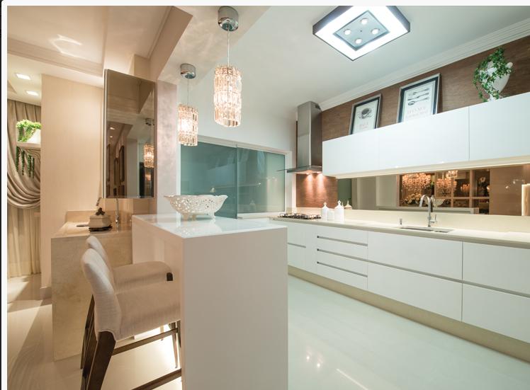 Construindo Minha Casa Clean 21 Cozinhas Americanas Modernas! Veja Modelos d # Bancada Cozinha Inox Sob Medida
