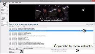 Cara Mengedit Sebuah Subtitle Film Dengan Subtitle Workshop