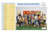 L'EQUIPE 2020-2021