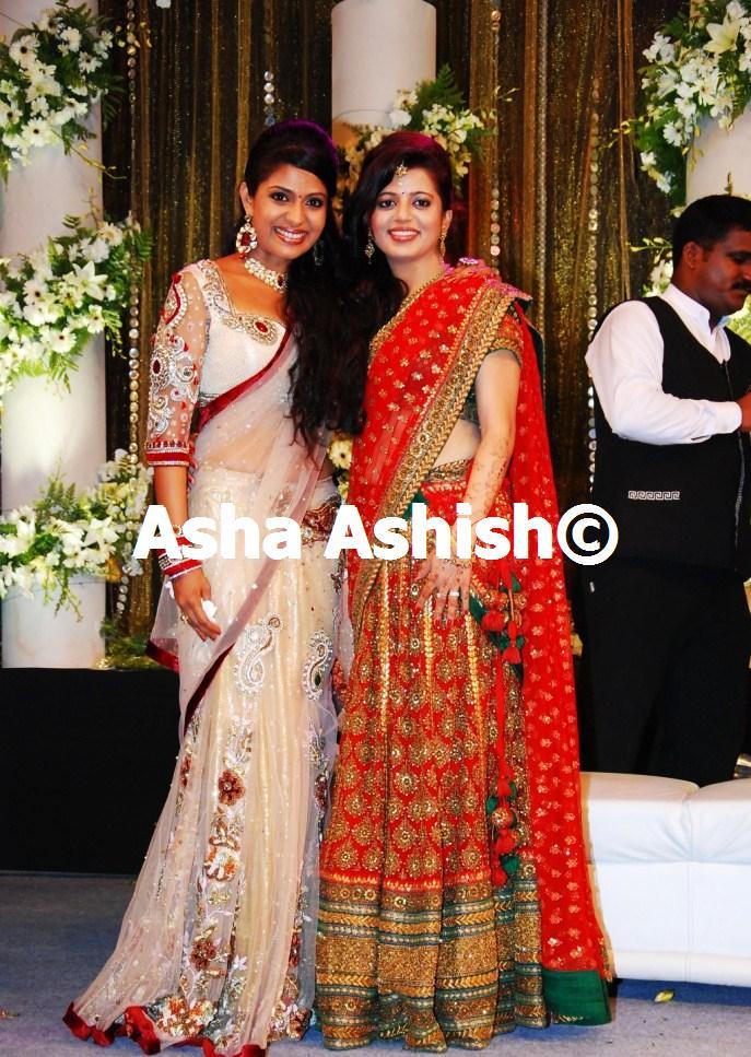 Asha Ashish: Prithviraj Supriya Menon Wedding Reception ...