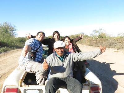Camino al Río Dulce - Gambeteandoconladepalo