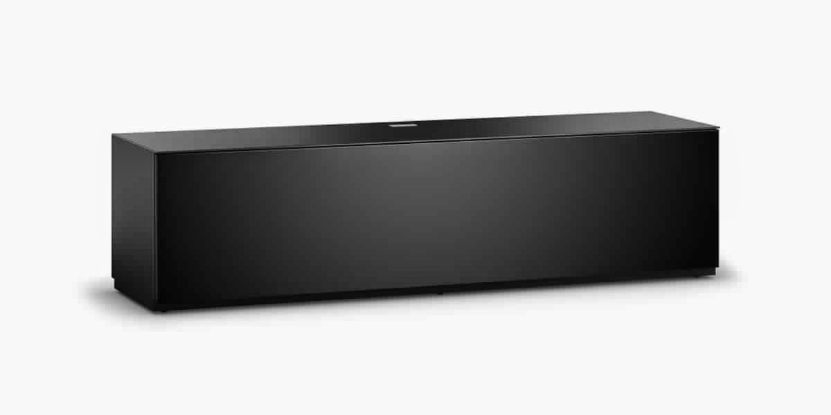 Meuble tv noir mat meuble tv for Meuble noir mat