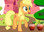 MLP Applejack recolectora de manzanas
