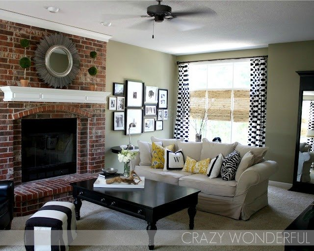 Crazy Wonderful: living room paint