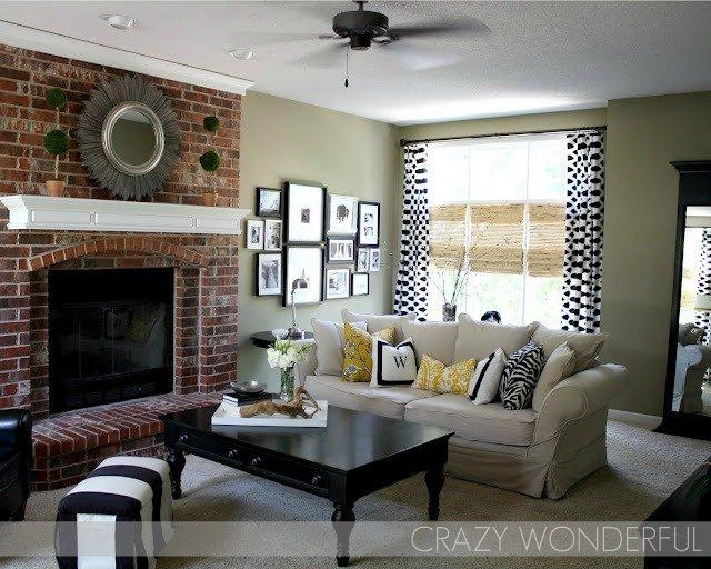 Crazy Wonderful: living room paint