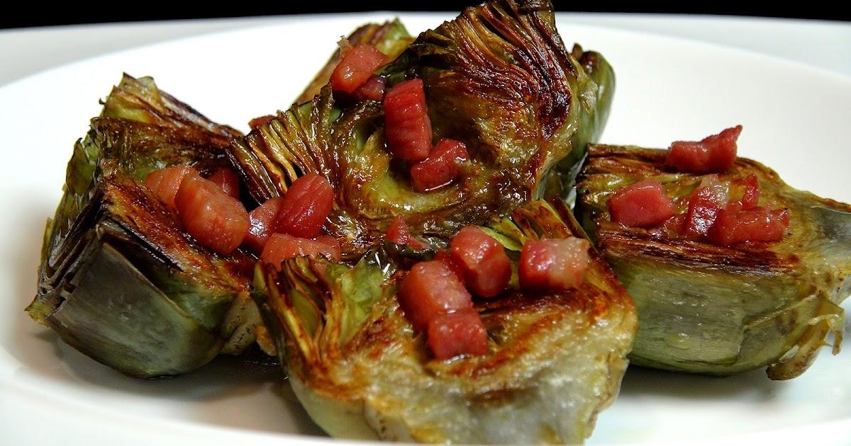 Cocinar para los amigos alcachofas a la plancha - Cocinar para los amigos ...