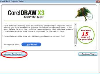 corel draw serial number x3