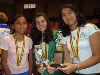 BICAMPEÃ SULAMERICANA 2009 e 2010