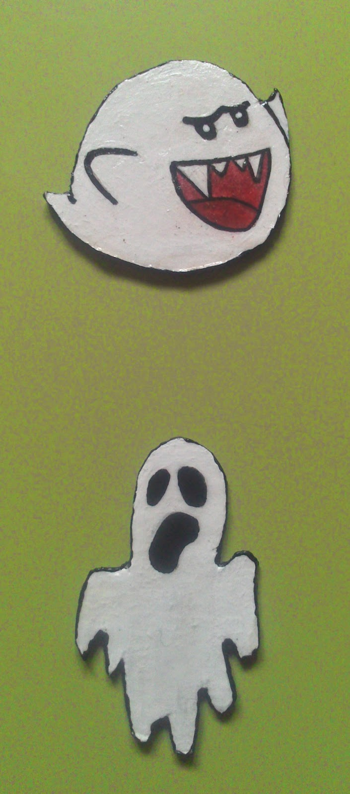 Crgc DIY imán fantasma Mario Bross