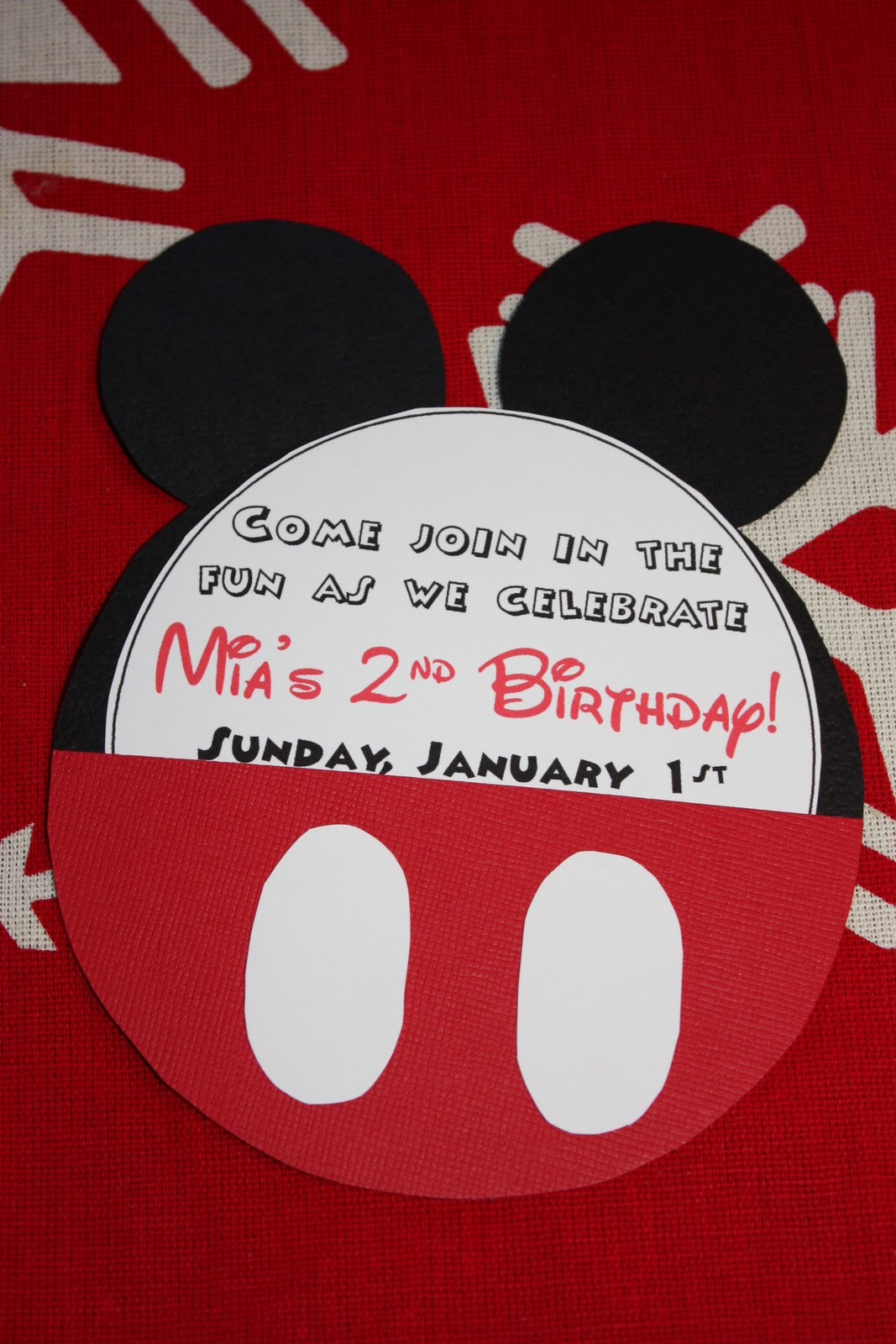 mandy in minneapoland mickey mouse birthday invites