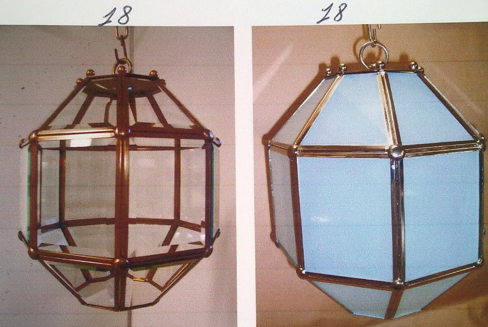 Lampadari da esterno in ferro battuto. lampioni e lampioncini di