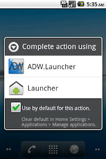 Change Default Apps android