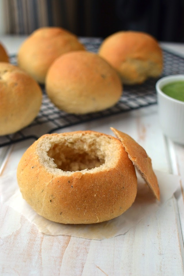 Homemade Bread Bowls for Soups