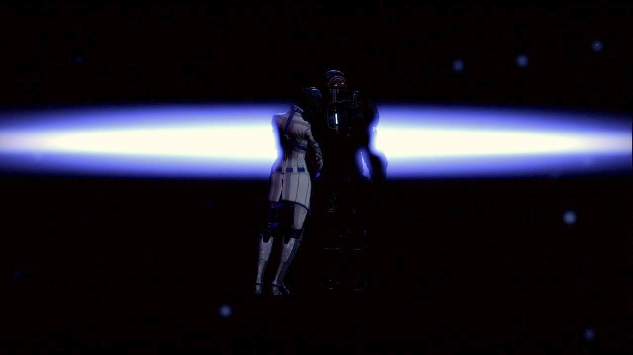 Liara  amp  ShepardMass Effect 3 Liara And Shepard